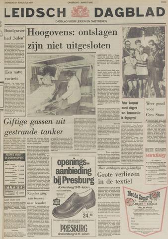Leidsch Dagblad 1977-08-31