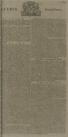 Leydse Courant 1722-08-14