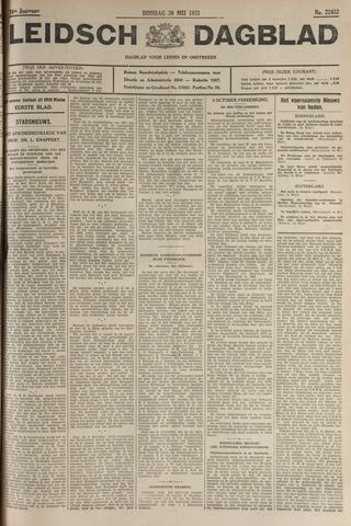 Leidsch Dagblad 1933-05-30