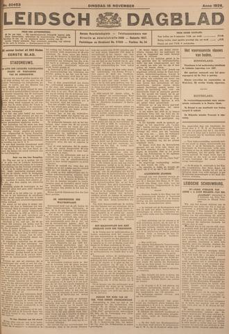Leidsch Dagblad 1926-11-16