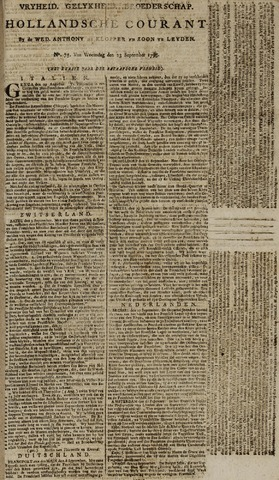 Leydse Courant 1795-09-23