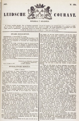 Leydse Courant 1877-08-07