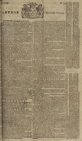 Leydse Courant 1759-03-19