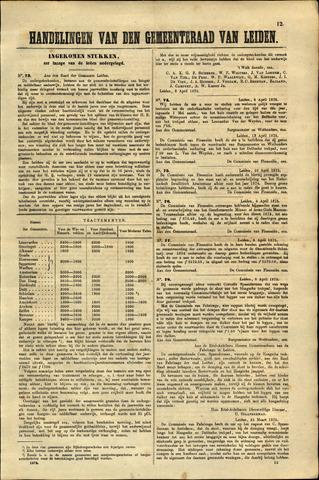 Handelingen van de Raad 1875-04-08