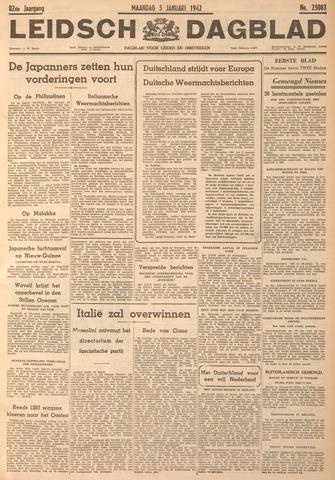 Leidsch Dagblad 1942-01-05