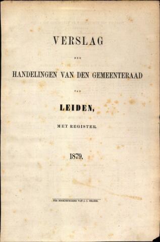 Handelingen van de Raad 1879-01-01