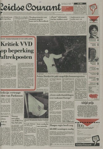 Leidse Courant 1989-11-16