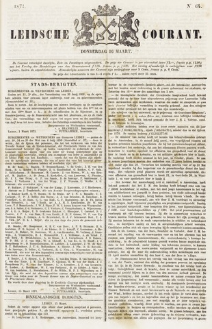 Leydse Courant 1871-03-16