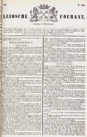 Leydse Courant 1877-11-09