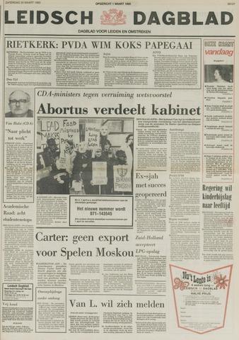 Leidsch Dagblad 1980-03-29