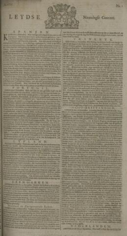 Leydse Courant 1725-01-01