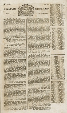 Leydse Courant 1826-02-15