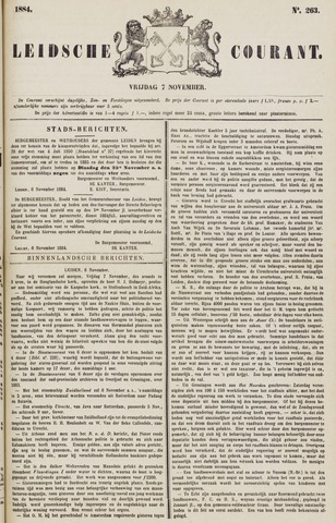 Leydse Courant 1884-11-07