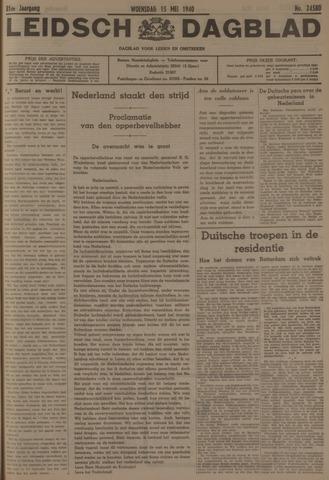 Leidsch Dagblad 1940-05-15