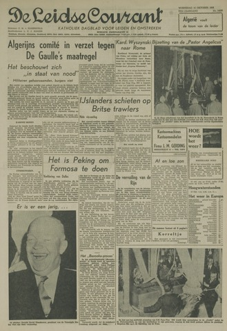 Leidse Courant 1958-10-15