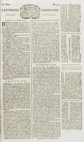 Leydse Courant 1824-04-19