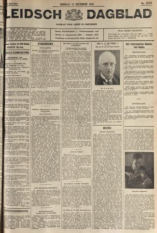 Leidsch Dagblad 1932-12-13