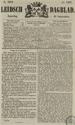 Leidsch Dagblad 1867-09-28