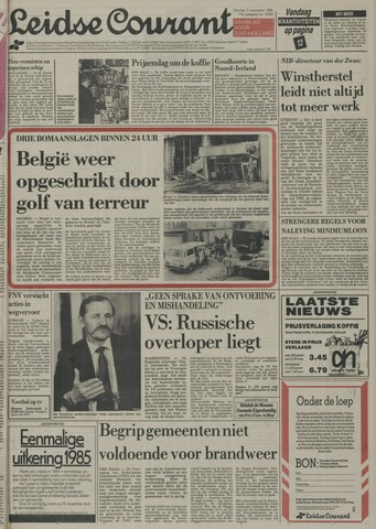 Leidse Courant 1985-11-05