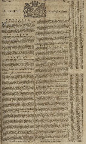 Leydse Courant 1759-04-30