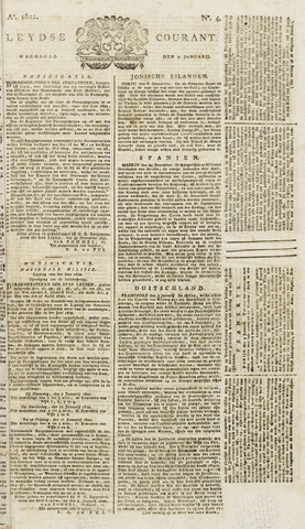 Leydse Courant 1822-01-09
