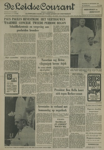 Leidse Courant 1963-09-30