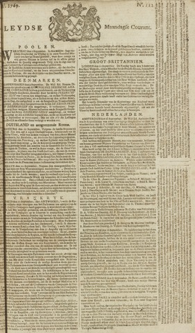 Leydse Courant 1769-09-18