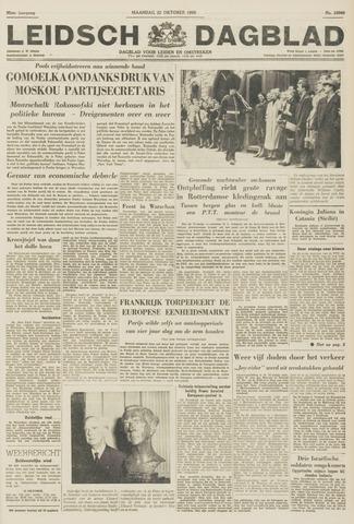 Leidsch Dagblad 1956-10-22