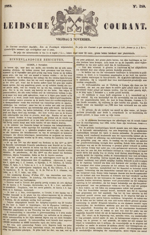 Leydse Courant 1883-11-02