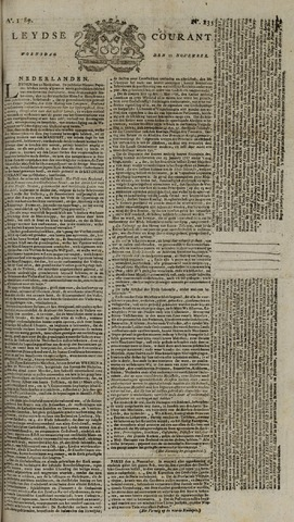 Leydse Courant 1789-11-11
