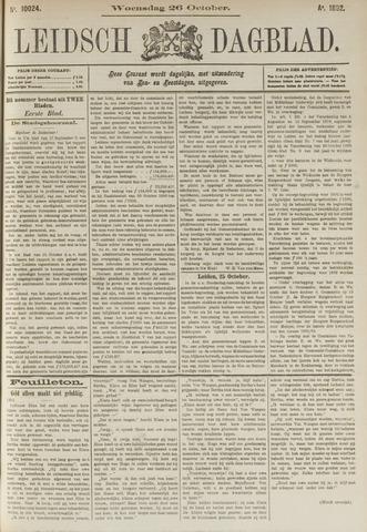 Leidsch Dagblad 1892-10-26