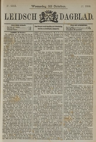 Leidsch Dagblad 1880-10-20
