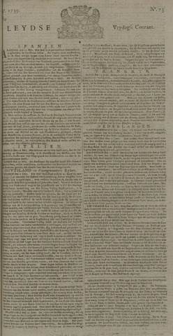 Leydse Courant 1739-06-19