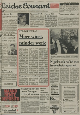 Leidse Courant 1985-05-07