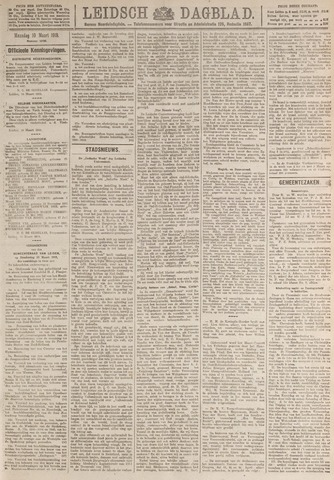 Leidsch Dagblad 1919-03-10