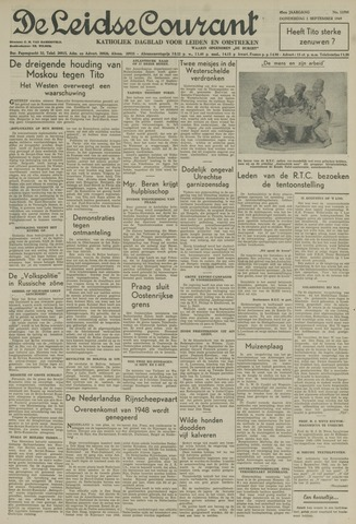 Leidse Courant 1949-09-01