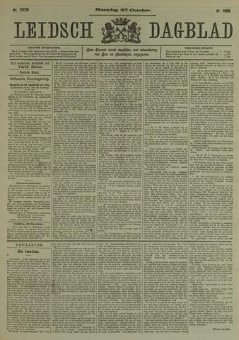 Leidsch Dagblad 1909-10-25