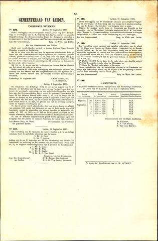Handelingen van de Raad 1885-09-14