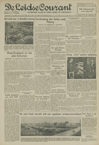 Leidse Courant 1951-08-30