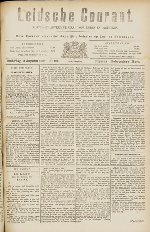 Leydse Courant 1889-08-15