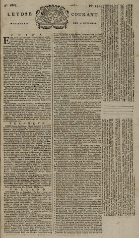 Leydse Courant 1807-11-25