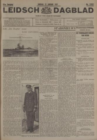 Leidsch Dagblad 1937-01-12