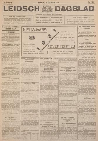 Leidsch Dagblad 1930-12-29