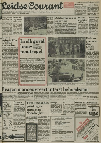 Leidse Courant 1980-11-07