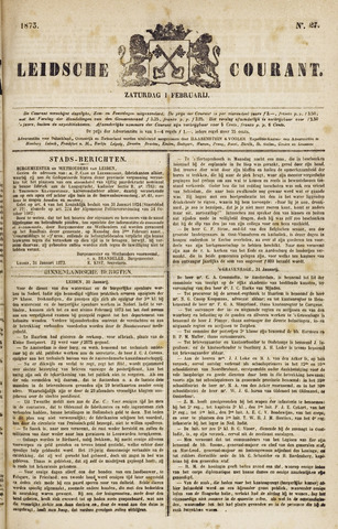 Leydse Courant 1873-02-01