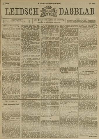 Leidsch Dagblad 1904-09-02