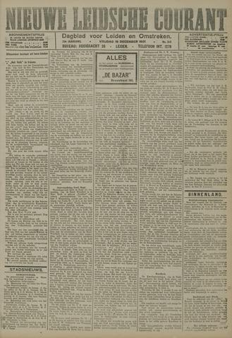 Nieuwe Leidsche Courant 1921-12-16