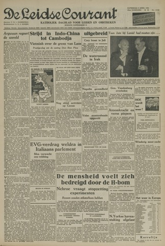Leidse Courant 1954-04-03