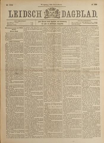 Leidsch Dagblad 1899-10-13
