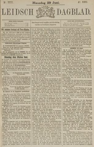 Leidsch Dagblad 1885-06-29